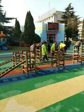 山东艺贝幼儿园户外大型玩具攀爬网攀爬架炭烧积木户外荡桥儿童平衡桥等