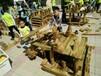幼儿园炭烧积木儿童实木积木玩具幼儿园户外大型碳化积木玩具