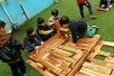 幼儿园益智玩具厂家大型户外碳化积木玩具木质积木玩具批发