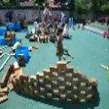 碳化积木玩具厂家潍坊幼儿园玩具批发图片