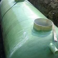 供应北京100立方玻璃钢化粪池缠绕玻璃钢化粪池污水处理设备