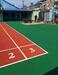 北京通州室外籃球場硅pu地坪
