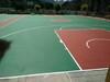 北京籃球場硅pu地坪施工