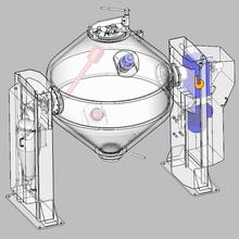 双锥回转真空干燥机,双锥干燥机,回转真空干燥机,双锥真空干燥机图片