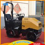 供应萨奥2吨小型压路机座驾式震动小型压路机3.5吨轮胎压路机图片