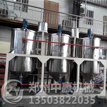 云南亚麻籽油精炼成套设备图片