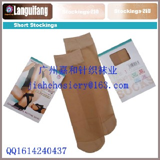 珠三角袜子厂家提供OEM定做生产天鹅绒丝袜,包芯纱丝袜图片2