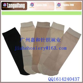 珠三角袜子厂家提供OEM定做生产天鹅绒丝袜,包芯纱丝袜图片4