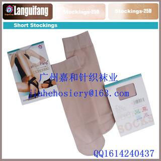 珠三角袜子厂家提供OEM定做生产天鹅绒丝袜,包芯纱丝袜图片5