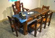 工厂直销万达船木家具餐桌茶桌办公桌酒柜
