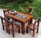 贵州老船木家具批发原生态船木茶桌图片户外茶几