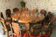 长春老船木茶桌餐桌椅组合批发仿古泡茶桌中式明清家具实木功夫简约茶台
