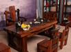 山西老船木茶桌椅组合批发室内外功夫茶台茶几