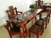 长春直销中山老船木家具批发中式茶桌茶几茶台图片客厅茶桌沙发