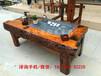 绵阳直销万达老船木家具椅组合图片船木茶桌批发复古实木阳台小茶台