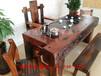 云南德宏万达船木家具批发茶几原生态老茶台图片?#30340;?#21151;夫茶台茶桌椅子