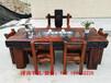 三亚海棠区古船木茶台批发老船木茶桌椅组合户外阳台功夫茶几实木家具泡茶台