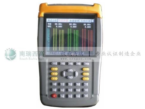电能质量问题的高精度测试仪器;同时还具备电参量测试,矢量分析的功能