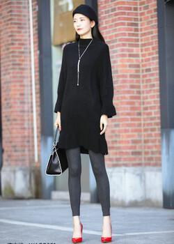 依维妮品牌中高端欧美风格大衣
