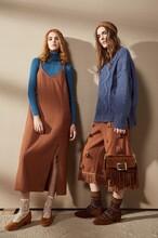 费依17冬年轻时尚大牌女装颜可可品牌折扣女装批发走份