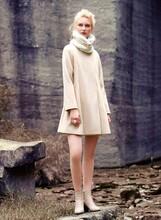 尘色17冬棉麻系列女装品牌折扣女装批发秋冬走份厂家直销