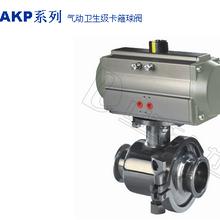 国产阀门LDBAAKP系列气动卫生级卡箍球阀图片