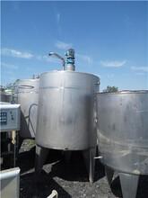 出售二手5吨不锈钢保温搅拌罐价格