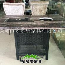 韩式自助无烟烧烤桌大理石火锅桌烤涮一体餐桌