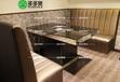 烧烤桌韩式无烟自助烤肉桌厂家热卖款式桌椅大理石火锅桌
