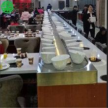 旋转火锅设备回转火锅设备厂家自助旋转小火锅餐台餐桌