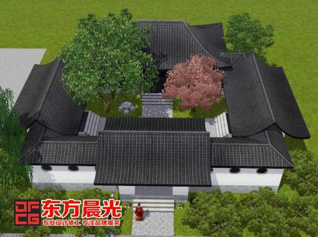东方晨光四合院古建装修设计