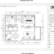 南京一号家居华侨绿洲85平米两室两厅现代简约风格全包预算设计及效果图