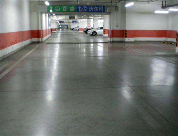 江门硬化剂停车场地坪防尘处理耐磨性能高