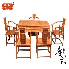 富贵卷书茶桌图新中式红木茶桌价格东阳花梨家具价格,东阳红木家具