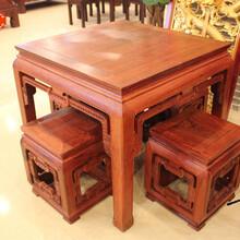 博古方桌图红木茶桌价格红木家具网,东阳红木家具市场