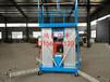 厂家定做/靖江供应铝合金式液压升降平台双柱升降机价格高空作业平台升降机