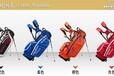 高尔夫伸缩旅行球包新品可升降式拖轮支架包