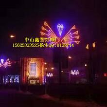 天津LED灯杆造型灯LED路灯灯杆造型灯定做LED中国结道路景观灯