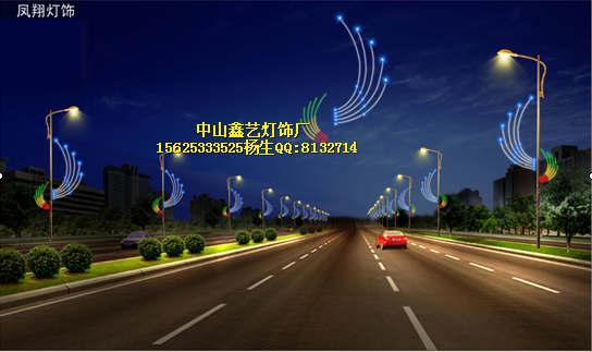 动物造型灯_,蝴蝶led路灯杆装饰灯动物led造型灯街灯led灯跨街灯