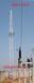 全鋼結構鐵路變電所避雷針式投光燈塔