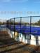 上海足球场安全pe防护栏高密度挡板