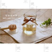 健木创意雕刻螺旋状蜂蜜搅拌棒厨房小帮手木质加工定制图片