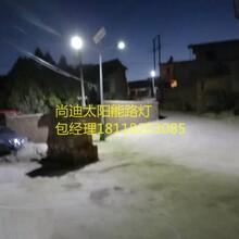 瑞安6米太阳能路灯新农村建设图片