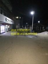 十堰6米太阳能路灯新农村建设图片