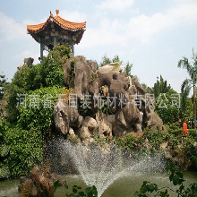 河南专业假山景观制作景观石价格假山石设计承接假山工程图片