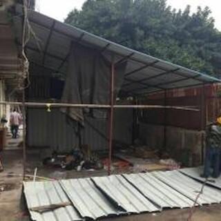 诚祥拆迁回收,惠州市快速铁皮房拆除费用图片1