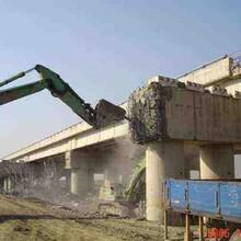 东莞市废旧桥梁拆除图片