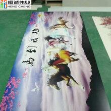 环保材料集成墙板3D彩绘机墙面天顶UV平板打印机厂家直销