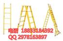 登高首选绝缘伸缩单梯电工作业平台A7益光绝缘梯高清图