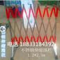 轻质不锈钢伸缩护栏夜间反光式护栏陕西工厂专用隔离栏